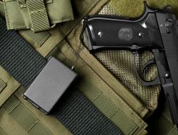 S.I.R  (Sistema integral de retenci�n) cable de acero retractil vinculante para armas de fuego